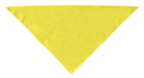 Mirage Pet Products 66-00 LGYW Plain Bandana Yellow Large