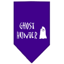 Mirage Pet Products 66-13-01 SMPR Ghost Hunter Screen Print Bandana Purple Small
