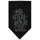 Mirage Pet Products Mr Steal Your Girl Screen Print Bandana