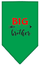 Mirage Pet Products 66-199 SMEG Big Brother Screen Print Bandana Emerald Green Small