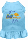 Mirage Pet Products Mermaid Life Embroidered Dog Dress