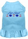Mirage Pet Products Set Sail Embroidered Dog Dress