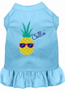 Mirage Pet Products Pineapple Chillin Embroidered Dog Dress