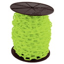 """Mr. Chain 51114 2"""" Reel Hd Chain 100'-Safety Green"""