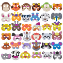 Aspire 12PCS /36PCS Assorted Foam Masks for Party Supplies, Fun Masks Dress-Up Party Accessory