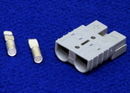 Tennant 130155 Battery Connector, 50A Gray, W/ 6 Gauge Contacts