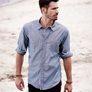 Weatherproof 154885 Vintage Chambray Long Sleeve Shirt