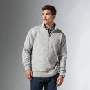 Weatherproof 198188 Vintage 2Tone Sweaterfleece Quarter Zip