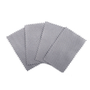 Aspire 100-Pack Jewelry Cleaning Cloth Mini Polishing Microfiber Cloths 2-1/2 x 4 Inch for Sterling Silver Gold Platinum