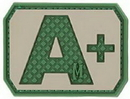 Maxpedition BTAPA A+ Pos Blood Type Patch (Arid) 1.5