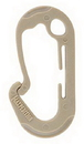 Maxpedition JUHLTAN J Utility Hook Large (Pack Of 4) (Tan)