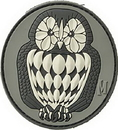 Maxpedition OWL3S Owl Patch (Swat) 3
