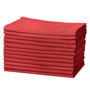 Muka 12 Packs Solid Polyester Dinner Napkins 18 x 18 Inch, Napkins for Party, Wedding, Everyday Use