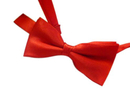 TopTie Kid's Solid Red Bow Ties Pre-Tied Bowties, Wholesale 10 Pc