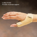 Liberty CMC Thumb Splint: Firm Leatherette, RIGHT