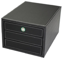 Hipce SDO-03 Faux Leather One Touch 3-Drawer Organizer