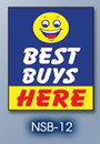 NEOPlex 18-001 Best Buys Here Under Hood Auto Sign 40