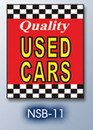 NEOPlex 18-015 Quality Used Cars Hood Auto Sign 40