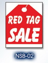 NEOPlex 18-017 RED TAG SALE HOOD AUTO SIGN 40