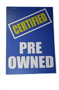 NEOPlex 18-022 Pre-Owned Hood Auto Sign 40