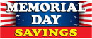 NEOPlex BN0073-3 Memorial Day Savings Flag 30