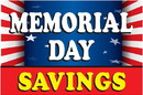 NEOPlex BN0073 MEMORIAL DAY SAVINGS WITH FLAG 24