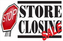 NEOPlex BN0196 Store Closing Stop Sign 24