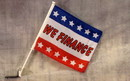 NEOPlex C-017 We Finance With Stars Car Window Flag