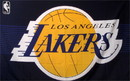 NEOPlex F-1014 Los Angeles Lakers 3'X 5' Basketball Flag