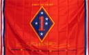 NEOPlex F-1081 Marine 1St Division 3'X 5' Military Flag
