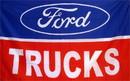 NEOPlex F-1117 Ford Trucks Automotive Logo 3'X 5' Flag