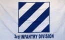 NEOPlex F-1162 Army 3Rd Infantry Division 3'X 5' Military Flag