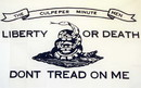NEOPlex F-1184 Don'T Tread On Me Culpeper White 3'X 5' Flag