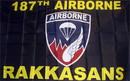 NEOPlex F-1186 187Th Airborne Rakkasans 3'X 5' Military Flag