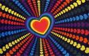 NEOPlex F-1287 Rainbow Love Premium 3'X 5' Flag