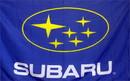 NEOPlex F-1313 Subaru Automotive Logo Blue 3'X 5' Flag