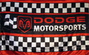 NEOPlex F-1315 Dodge Motorsports Black/Red Premium 3'X 5' Flag