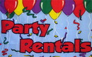 NEOPlex F-1322 Party Rentals 3'X 5' Advertising Flag