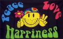 NEOPlex F-1333 Peace Love Happiness 3'X 5' Flag