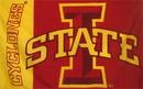 NEOPlex F-1407 Iowa State Cyclones Logo 3'X 5' College Flag