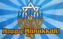 NEOPlex F-1421 Happy Hanukkah 3'X 5' Flag