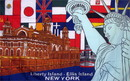 NEOPlex F-1426 Liberty Island New York 3'X 5' Flag
