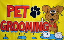 NEOPlex F-1433 Pet Grooming 3'X 5' Flag