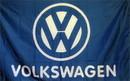 NEOPlex F-1451 Volkswagen 3'X 5' Blue & White Flag