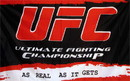 NEOPlex F-1474 Ufc Red Black 3X5 Flag