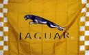 NEOPlex F-1489 Gold Jaguar Automotive 3'X 5' Flag