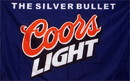 NEOPlex F-1492 Blue Coors Light 3'X 5' Flag
