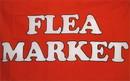 NEOPlex F-1528 Flea Market Rd/Wh 3'X 5' Flag