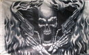 NEOPlex F-1546 Skeleton With Guns 3'X 5' Flag
