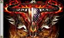 NEOPlex F-1580 Flaming Bull Skull 3'X 5' Flag